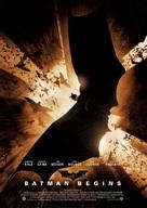 Batman Begins - Norwegian Movie Poster (xs thumbnail)