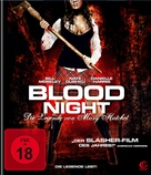 Blood Night - German Blu-Ray cover (xs thumbnail)