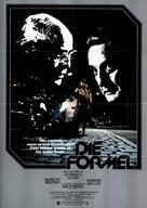 The Formula - German Movie Poster (xs thumbnail)