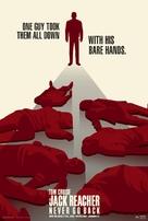 Jack Reacher: Never Go Back - poster (xs thumbnail)