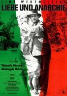 Film d'amore e d'anarchia, ovvero 'stamattina alle 10 in via dei Fiori nella nota casa di tolleranza...' - German Movie Poster (xs thumbnail)