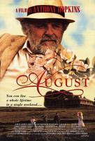 August - Movie Poster (xs thumbnail)