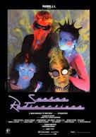 Radioactive Dreams - Spanish Movie Poster (xs thumbnail)