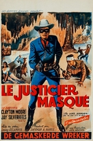 The Lone Ranger and the Lost City of Gold - Belgian Movie Poster (xs thumbnail)