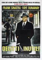 The First Deadly Sin - Italian Movie Poster (xs thumbnail)