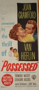 Possessed - Australian Movie Poster (xs thumbnail)