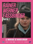 Die ehe der Maria Braun - French Re-release poster (xs thumbnail)