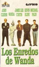 A Fish Called Wanda - Argentinian VHS movie cover (xs thumbnail)