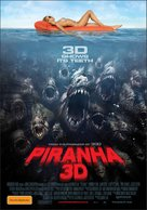 Piranha - Australian Movie Poster (xs thumbnail)