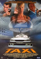 Taxi 2 - Spanish Movie Poster (xs thumbnail)