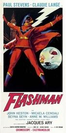 Flashman - Italian Movie Poster (xs thumbnail)