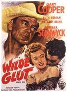 Blowing Wild - German Movie Poster (xs thumbnail)
