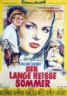 The Long, Hot Summer - German Movie Poster (xs thumbnail)