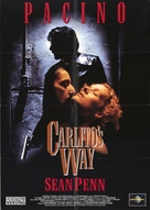 Carlito's Way - German Movie Cover (xs thumbnail)