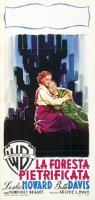 The Petrified Forest - Italian Movie Poster (xs thumbnail)