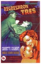 Three Came Home - Spanish Movie Poster (xs thumbnail)