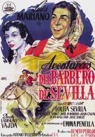 Aventuras del barbero de Sevilla - Spanish Movie Poster (xs thumbnail)