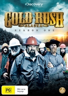 """Gold Rush: Alaska"" - Australian DVD movie cover (xs thumbnail)"