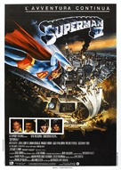 Superman II - Italian Movie Poster (xs thumbnail)