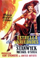 Lady of Burlesque - Spanish Movie Poster (xs thumbnail)