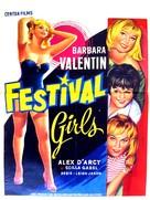 The Festival Girls - Belgian Movie Poster (xs thumbnail)
