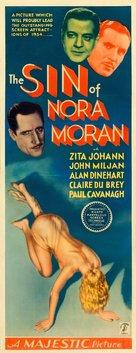 The Sin of Nora Moran - Movie Poster (xs thumbnail)