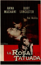 The Rose Tattoo - Spanish Movie Poster (xs thumbnail)