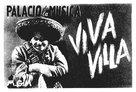 Viva Villa! - Spanish Movie Poster (xs thumbnail)