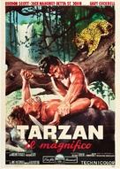 Tarzan the Magnificent - Italian Movie Poster (xs thumbnail)