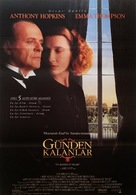 The Remains of the Day - Turkish Movie Poster (xs thumbnail)