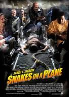 Snakes On A Plane - Norwegian Movie Poster (xs thumbnail)