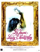 Young Lady Chatterley - French Movie Poster (xs thumbnail)