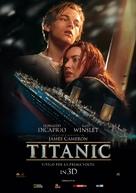 Titanic - Italian Movie Poster (xs thumbnail)