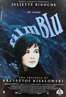 Trois couleurs: Bleu - Italian Movie Poster (xs thumbnail)