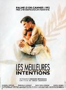 Goda viljan, Den - French Movie Poster (xs thumbnail)