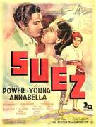 Suez - Spanish Movie Poster (xs thumbnail)