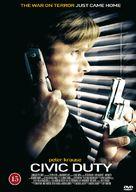 Civic Duty - Danish DVD cover (xs thumbnail)