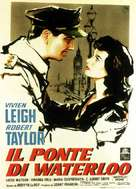 Waterloo Bridge - Italian Movie Poster (xs thumbnail)