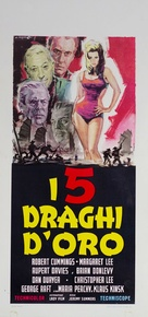 Five Golden Dragons - Italian Movie Poster (xs thumbnail)