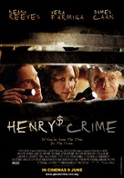 Henry's Crime - Malaysian Movie Poster (xs thumbnail)