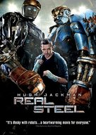 Real Steel - DVD cover (xs thumbnail)