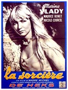 La sorcière - Belgian Movie Poster (xs thumbnail)