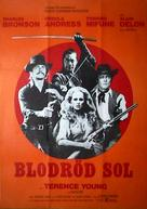 Soleil rouge - Swedish Movie Poster (xs thumbnail)