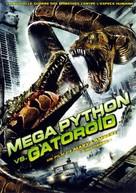 Mega Python vs. Gatoroid - French DVD movie cover (xs thumbnail)