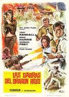 Kommissar X - In den Klauen des goldenen Drachen - Spanish Movie Poster (xs thumbnail)