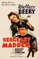 Sergeant Madden - Movie Poster (xs thumbnail)
