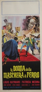 Lady in the Iron Mask - Italian Movie Poster (xs thumbnail)