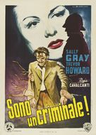 They Made Me a Fugitive - Italian Movie Poster (xs thumbnail)