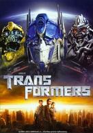 Transformers - Czech DVD movie cover (xs thumbnail)