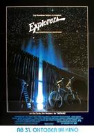 Explorers - German Movie Poster (xs thumbnail)